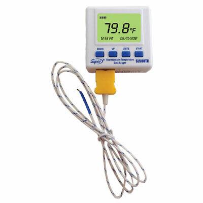 Supco Sl500tc Thermocouple Temperature Data Logger W Probe Software Usb Cable