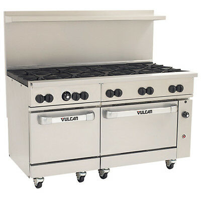 Vulcan Endurance Lp Gas Range - 60w 10 Burners - 2 Std. Ovens