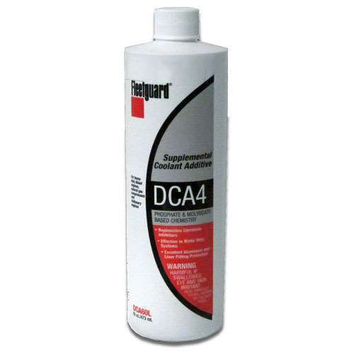 DCA60L NEW GENUINE FLEETGUARD CUMMINS LIQUID COOLANT SYSTEM ADDITIVE DCA DIESEL