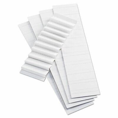 Blank Inserts For Hanging File Folder 42 Series Tabs 15-cut Tabs White 2