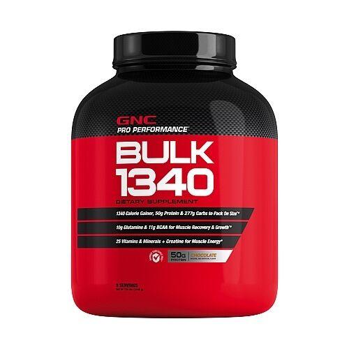 GNC Pro Performance Bulk 1340 Mass Weight Gainer - Chocolate