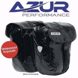 Azur 100% Waterproof Panniers-Black - Half Price