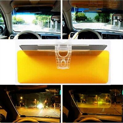 Car Sun Visor Anti–Glare Blocker UV Fold Flip Down HD Clear View Sunshade Well Car & Truck Parts