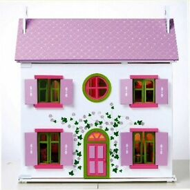 Dolls house emporium lilac cottage dolls house