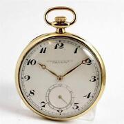 18K Solid Gold Pocket Watch