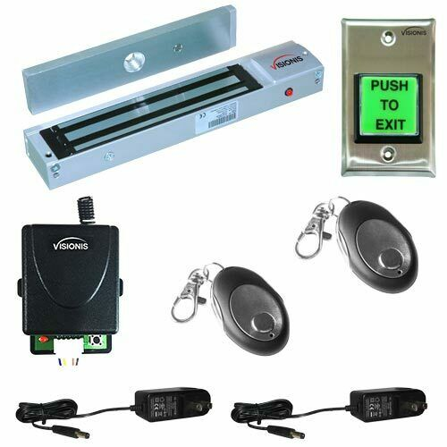 FPC-5012 One door Access Control outswinging door 600lb Electromagnetic lock kit