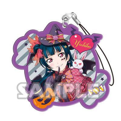 Love Live Sunshine Yoshiko Halloween Acrylic Phone Strap Anime Manga - Love Live Halloween
