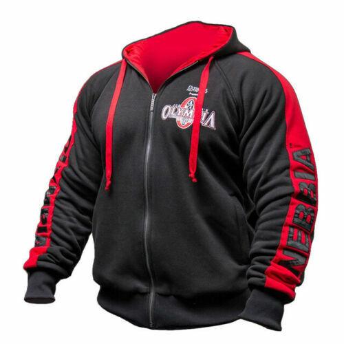 2020 Neu Mr Olympia Bodybuilding Wear Hoodie Sweat Jacke Pullover Kapuze Gym