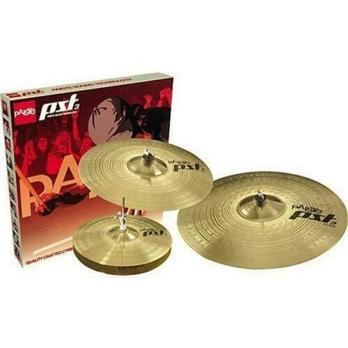 Paiste PST 3 Universal Set (14hi hat pair/16 crash/20 ride) free fast delivery