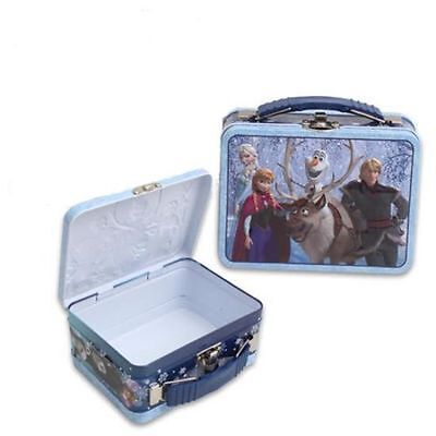 DISNEY FROZEN ELSA AND ANNA LIP BALM & TIN BOX SET BLUE