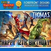 Marvel Birthday Card
