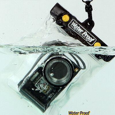 Underwater Housing Water-proof Camera Case Bag for Panasonic Lumix Pentax i