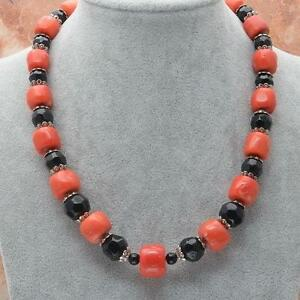 Red coral necklace ebay natural red coral necklace aloadofball Images