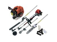BRAND NEW GREAT TOOL 4 IN 1 PETROL HEDGE TRIMMER CHAINSAW STRIMMERMULTI-FUNCTION GARDEN TOOL