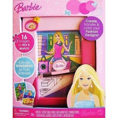 Barbie Mix, Match & Color Activity Set Fashion Plates