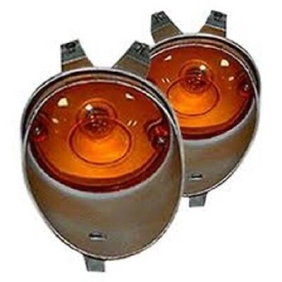 70 Charger. 1970-1974 Challenger Parking Light Lens Housings NEW