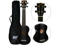 Mahalo 2511 MR1 Soprano Ukulele with Gig Bag