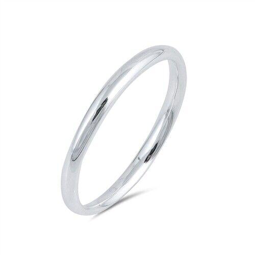women s bridal wedding 2mm band promise