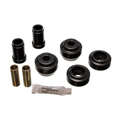 Energy Suspension 5 3107G Control Arm Bushing Set Black Performance Polyurethane