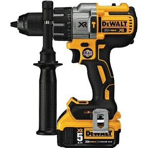 dewalt DCD 996 20V MAX XR Lithium brushless 3 speed hammerdrill
