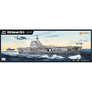 Merit USS Hornet Aircraft Carrier 1:200 Large Scale Model Ship Kit