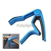 Acoustic Guitar Capo Blue