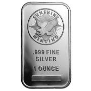 1 oz Sunshine Silver Bar