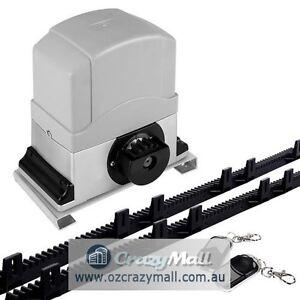 Heavy Duty Automatic Motor Remote Sliding Gate Opener Melbourne CBD Melbourne City Preview