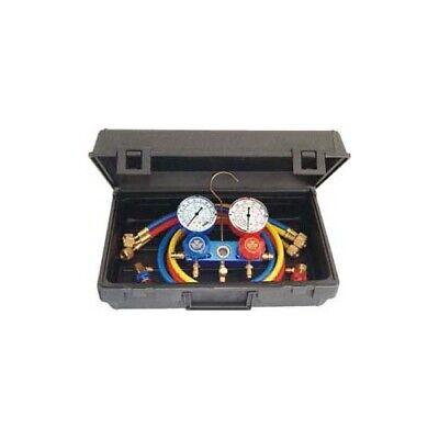 Mastercool Ac Brass Manifold R-134a Gauge Set Air Conditioning Tool Tools