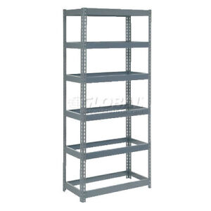 "Extra Heavy Duty STEEL Shelving 36""W x 12""D x 72""H"