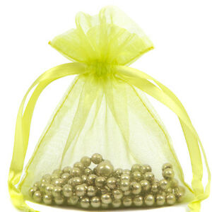 Premium-Lime-Green-Organza-Wine-Bottle-Gift-Pouch-Bag-15x43cm