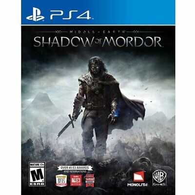 Shadow of Mordor - PlayStation 4 - Ps4 Games - Brand New Factory Sealed