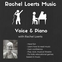 Piano and singing voice lessons with Rachel Loerts