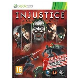 XBOX 360 - INJUSTICE GODS AMONG US SPECIAL STEELCASE EDITION ★ FREE EXPRESS POST