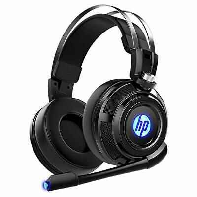 HP Wired Stereo Headset with mic Gaming Over ear Headset W LED H200 Headphone