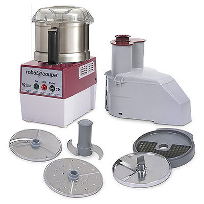 Robot Coupe R2dice Ultra Combination Food Processordicer Stainless Steel Bowl
