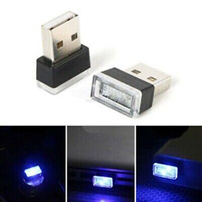 MINI USB PORT LED Light Auto Car Interior Ambient Lamp (LOT of 3 BLUE-ICE-WHITE)