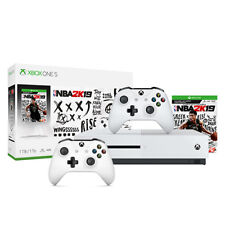Xbox One S 1Tb NBA 2K19 Bundle + Extra Xbox White Wireless Controller