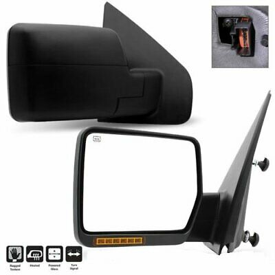 Pair For 2004-2006 Ford F150 Pickup Truck Power/Heated/Turn Signal Side Mirror
