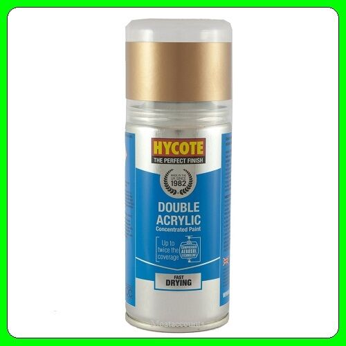 Hycote Vauxhall Antique Gold (Met) Acrylic Spray Paint 150ml [XDVX706] 66L
