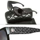 CHANEL Polarized Oval Sunglasses for Women
