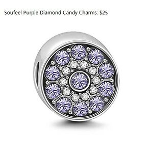 sterling silver charms and stoppers - fit all Pandora barcelet a