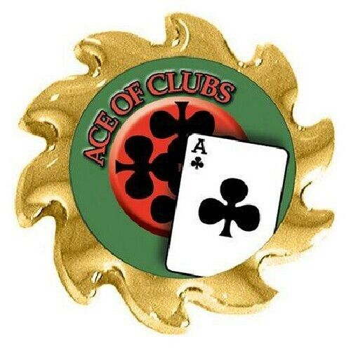 ACE OF CLUBS Spinner Poker Guard Cover Protector
