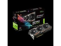 ASUS NVIDIA GeForce GTX 1070 8GB ROG STRIX GAMING OC - 6 months old