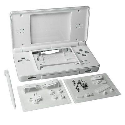 Nintendo DS Lite Full Replacement Housing Shell Screen Lens Polar White NEW! US!