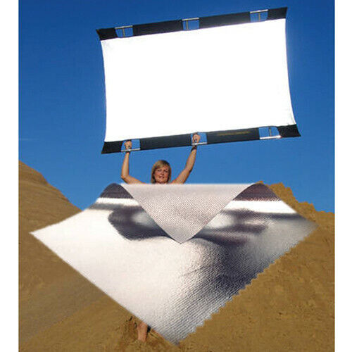 Sunbounce Sun-Bouncer Pro Reflector Kit with Silver/White Screen MINTY!!!