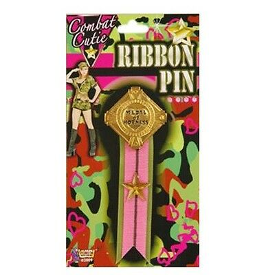 Combat Cutie Ribbon Medal Pin Military Army Brat Halloween Costume Accessory](Halloween Costume Gold Medal)