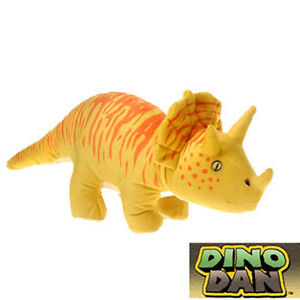 Fiesta Plush - Nick Jr. Dino Dan - TRICERATOPS (15.5 inch) - New Stuffed Animal