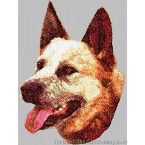 Embroidered Ladies Fleece Jacket - Australian Cattle Dog DLE1470 Sizes S - XXL