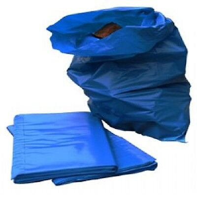 7 EXTRA HEAVY DUTY BLUE RUBBLE BAGS/SACKS BUILDERS GARDEN RUBISH BAGS
